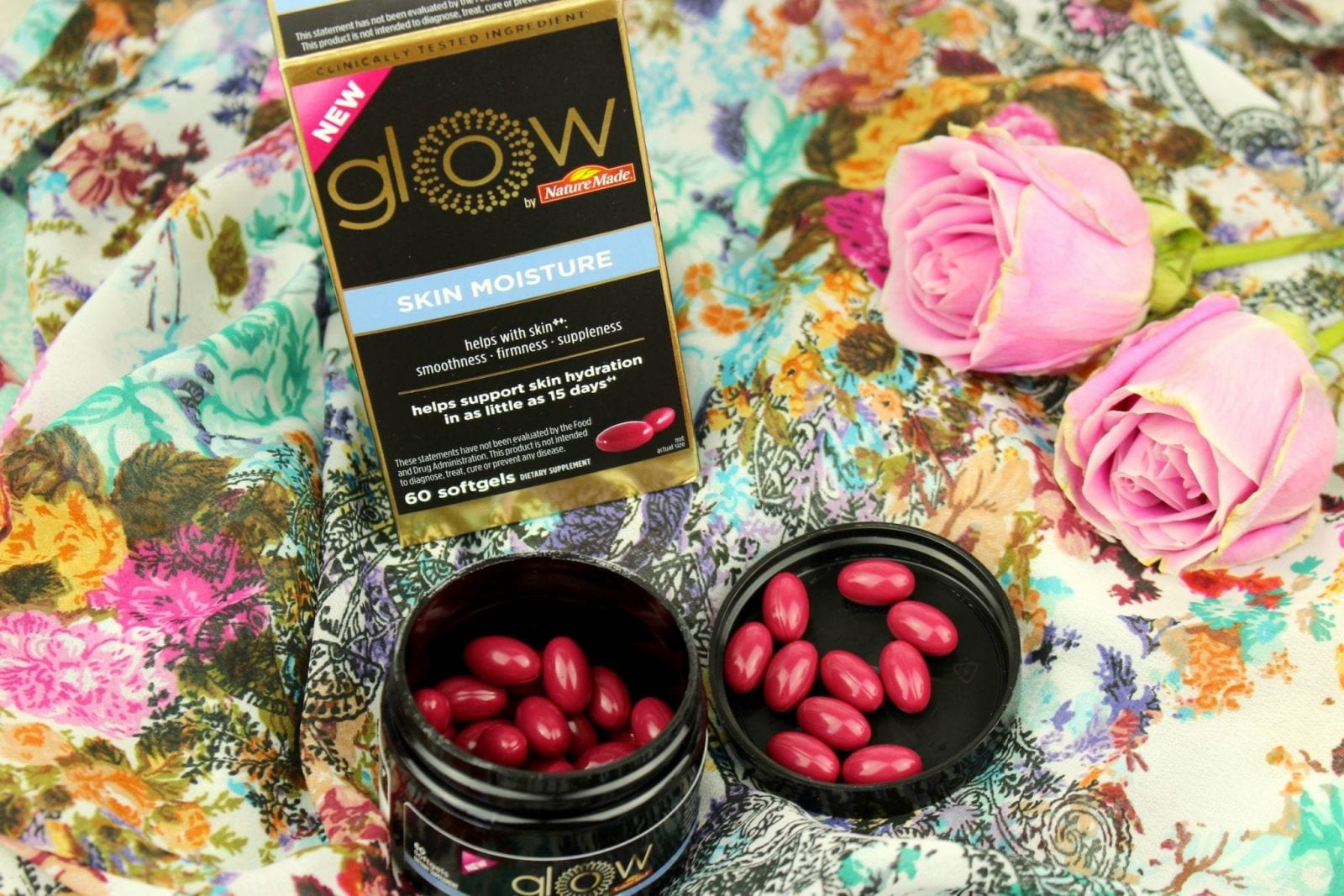 Testing Glow by Nature Made® Skin Moisture for 2 Weeks