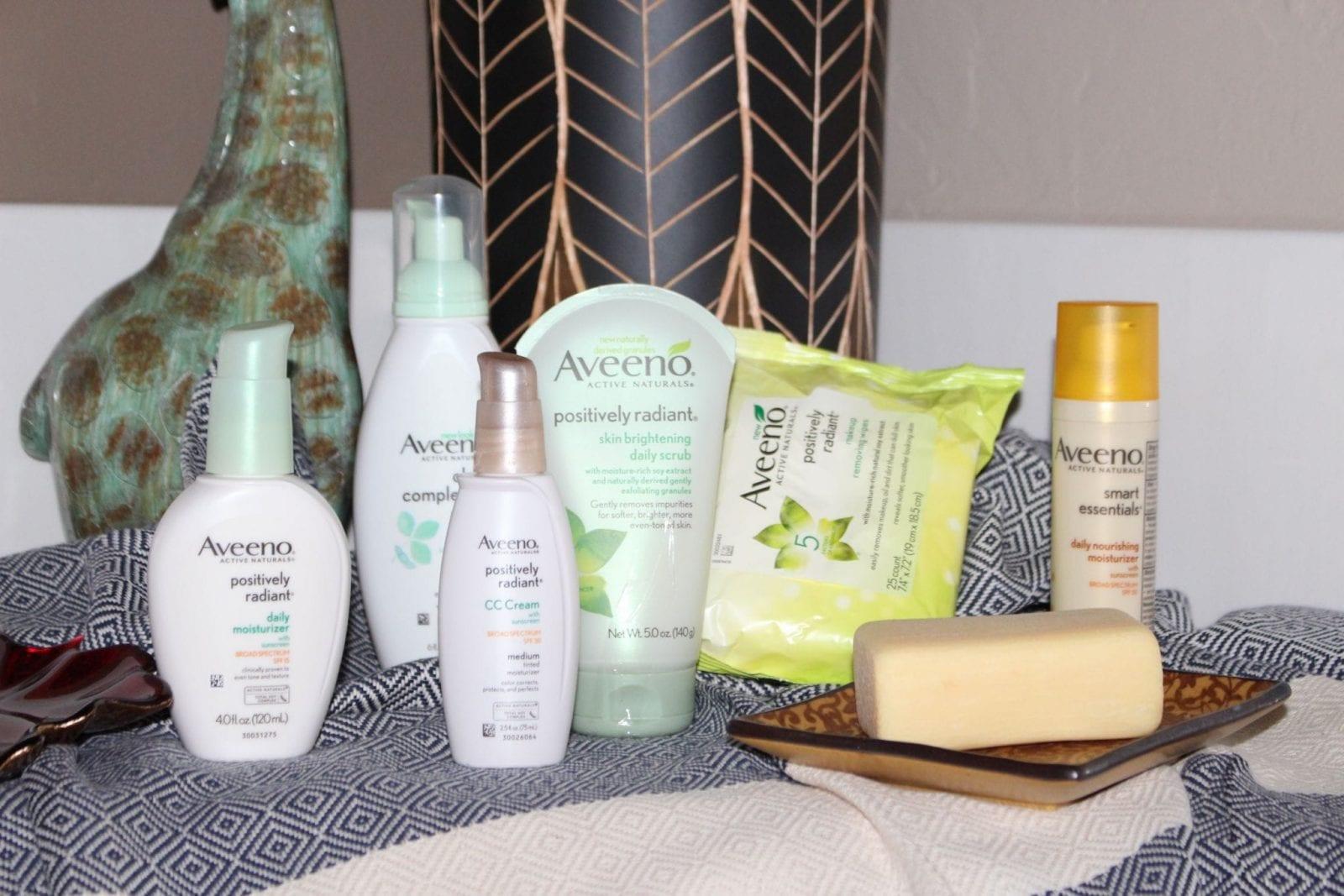 Rocking Aveeno Skincare from iHerb