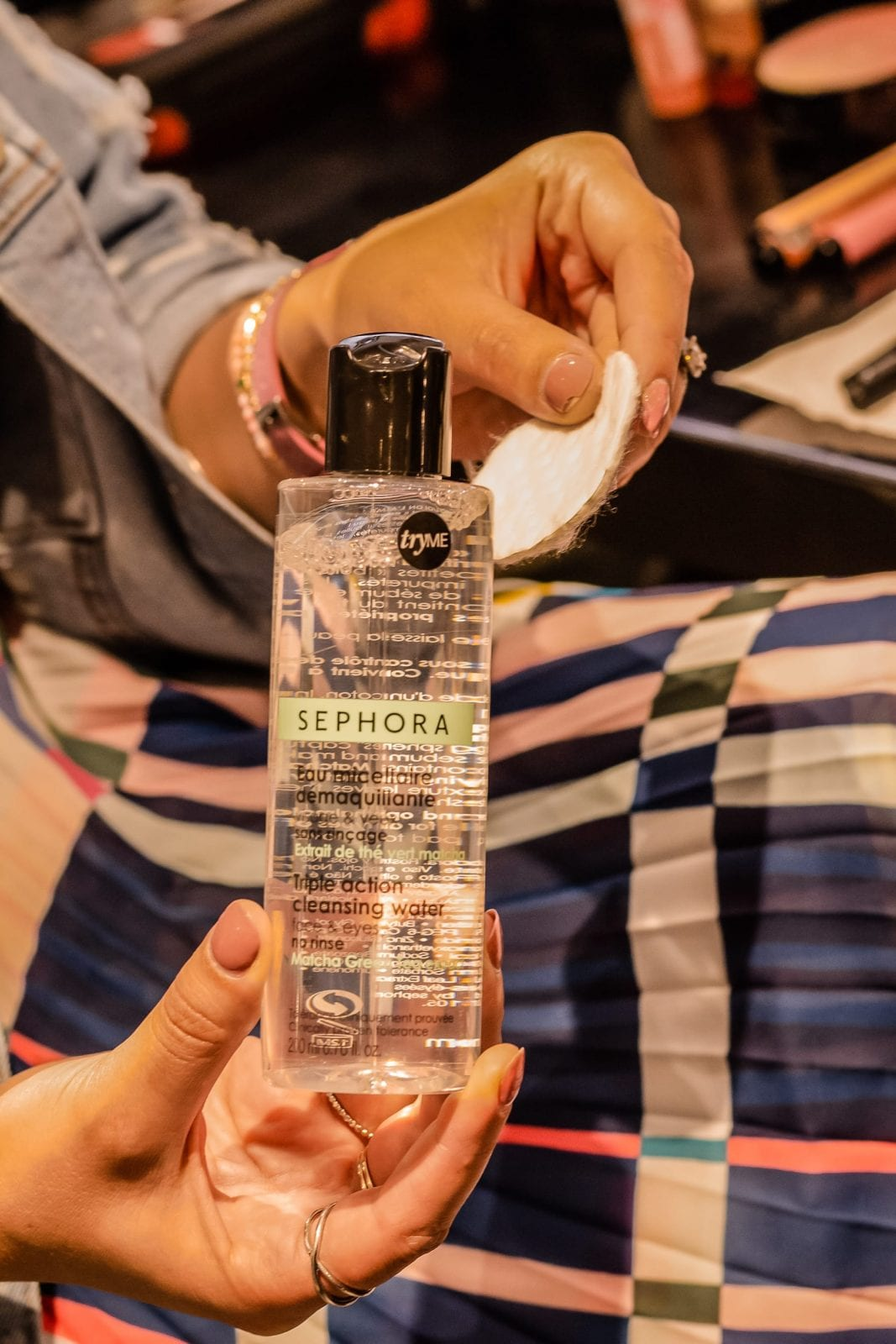 This is the makeup remover from The Sephora Collection.
