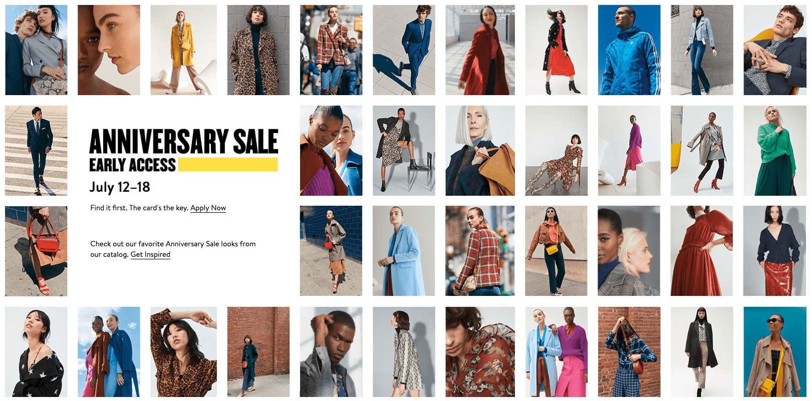 This is a collage from the NSALE catalog.
